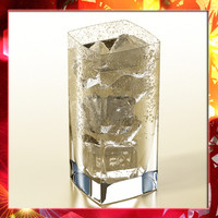 photorealistic glass ice 3d model