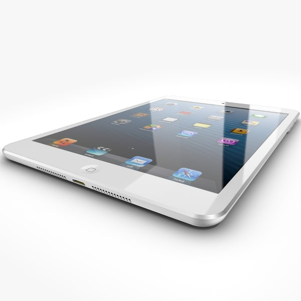3d model apple ipad mini - Apple iPad mini... by NiceModels