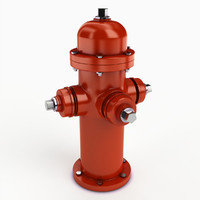3ds max hydrant modeled