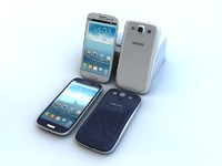 3d galaxy s3 samsung model