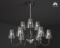 3d model silba chandelier 9l