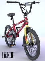 maya bmx bike decals rigged