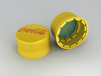 3ds max screw cap