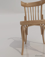 egypt chair wood 3d 3ds