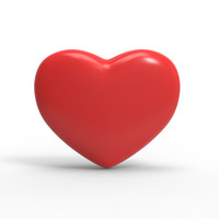 3ds max heart red