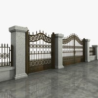 Wrought Iron Gate 09