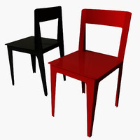3d la pliee chair marie