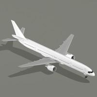 airliner b 757-300 3d model