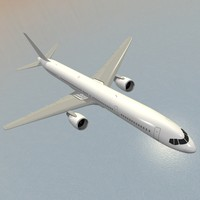 airliner b757-300 winglets 3d 3ds