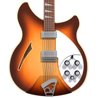 guitar rickenbacker 12 3d model