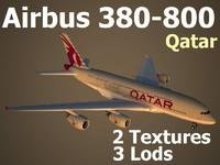 3d model airbus qar
