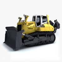 maya bulldozer