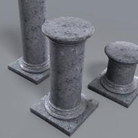max pedestals support statue