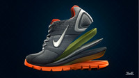 Nike lunarglide running shoe high res