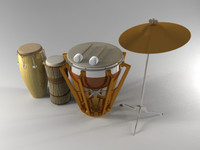 Simple Set Percussion