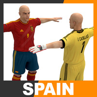 Football Player and Goalkeeper - Spain National Team