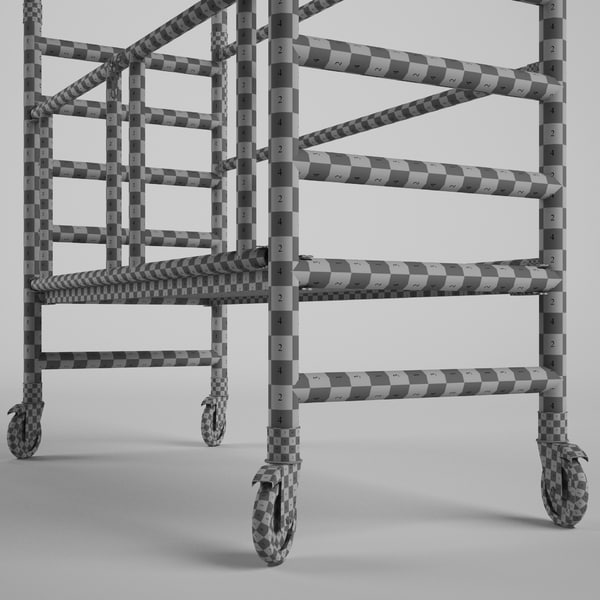 3d model scaffold tower - Scaffold Tower 2... by C A Design Services 3D Team UK