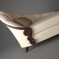3d model chaise room