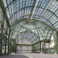 Grand Palais, Paris, no texture