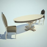 3d kitchen furniture model
