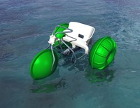 paddle bike or water trike