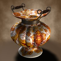 antique vase 3d model