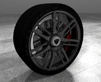 3ds max wheel zenvo st1