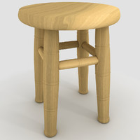 stool matte 3d max