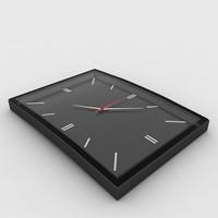 wall watch 3d model