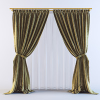 3d 3ds curtains 14