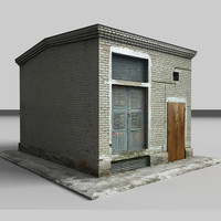 3d ready building model