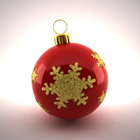 christmas decoration 3d max