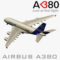 airbus a-380 color house blend