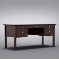 Crate and Barrel - Ainsworth Cognac Desk