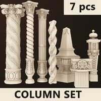 Column Set 1 (7 pcs)