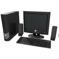 computer setup dell 3d max