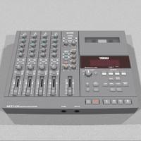 3d cassette track recorder