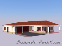 Southwestern Ranch House