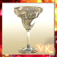 photorealistic glass 01 3d model