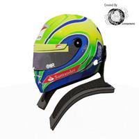 Felipe Massa 2012 Helmet