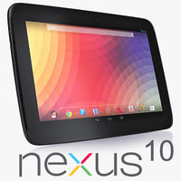 3d model google nexus 10