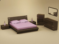 model oreon bedroom set bed