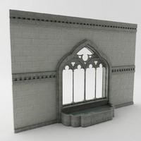 3d gothic foyer