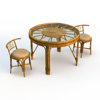 Rotang Table and Chairs