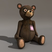 teddy bear c4d