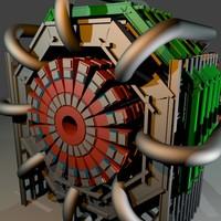 cern accelerator 3d blend