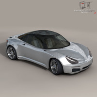 Electric concept sports car