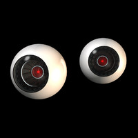 3d xpresso robotic eyes