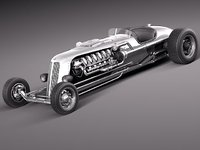 Jay Leno Tank Car Hot Rod