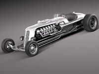 3ds jay leno tank car engine